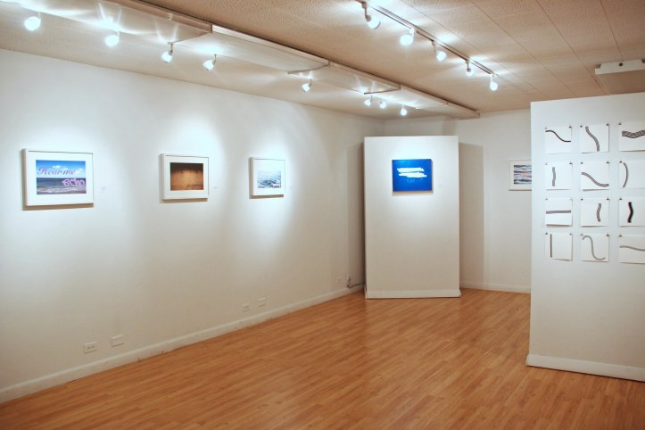 """the unexpected vista"" exhibition at the Brickton Art Center, Park Ridge, IL, 2015"